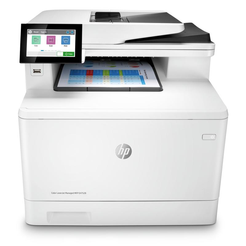HP Color LaserJet Managed MFP E47528f
